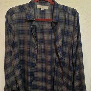 LOFT woman dress shirt